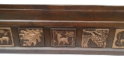 Copper Fireplace Mantel Wild Life Theme