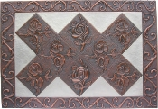 "Copper Mural and Cabinet Panel 48"" x 32"""