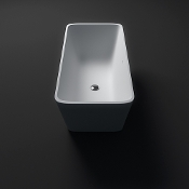 Cast Stone Freestanding Bath Tub 59""