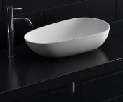 Cast Stone Egged Shapped Sink