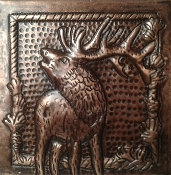 Copper tile Elk