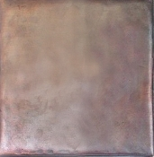 "Copper Tile 6"" Smooth Tile"