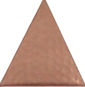 "Copper 4"" Tile Triangle"