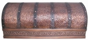 CRH-004 Copper Range Hood. Custom Build To Your Size.