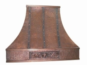 CRH-001 Copper Range Hood. Custom Build To Your Size Requirments