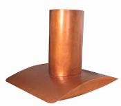 CRH-010 Copper Range Hood. Custom Build And Design.
