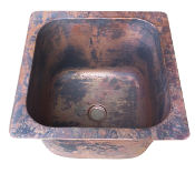 Cast Bronze Bar Sink 14.5""