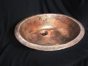 Cast Bronze Sink Oval