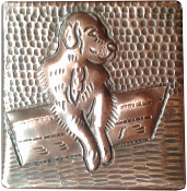CT-100 Dog Copper Tile
