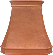 CRH-006 Copper Range Hood. Custom Build And Design.