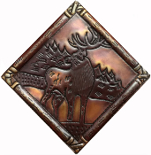CT-118 Elk Diamond Copper Tile