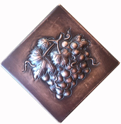CT-125 Copper Tile Grape Diamond