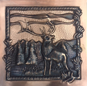 CT-128 Copper Tile Elk Mountain