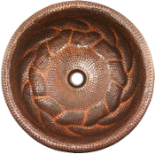 Copper Vanity Sink Braid